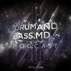 DRUMANDBASS.MD PODCAST MIXED BY CODEK