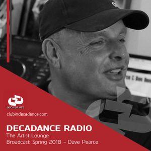 The Decadance Artist Lounge - Dave Pearce - 2018