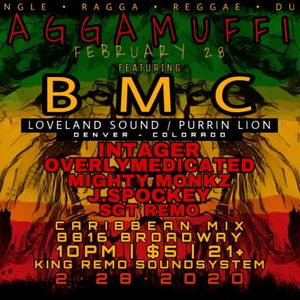 INTAGER live @ RAGGAMUFFIN FEB 2020 on The King Remo Sound System