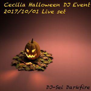 Cecilia Halloween DJ Event  2017/10/01 Live set