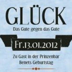 Benet Rix @ GLÜCK (Prinzenbar, Hamburg)