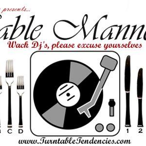 Dj Scandales - Table Mannerz (Jan14 2011)