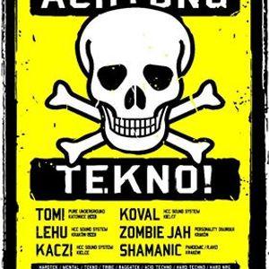 Zombie Jah a.k.a. KPK - AchtungTekno@KawiarniaNaukowa[16.07.2016]