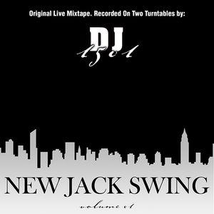 DJ OKI - NEW JACK SWING VOLUME 1 - ORIGINAL LIVE MIXTAPE - BLACK MUSIC OF THE 80'S