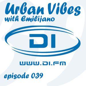 Emilijano - Urban Vibes 039 [DI.FM] (October 2014)
