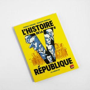 """""""Caractères"""", d'Alex Mathiot - Thomas Legrand, """"L'Histoire de la Vème République"""", Arènes BD"""