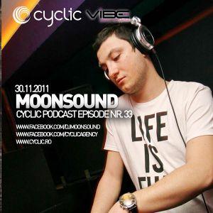 Cyclic Podcast Episode Nr 033 - MoonSound - 30.11.2011