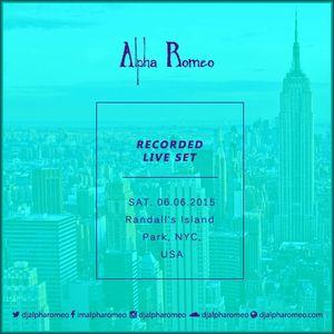 DJ Alpha Romeo Liveset @ Randall's Island Park (NYC, USA)