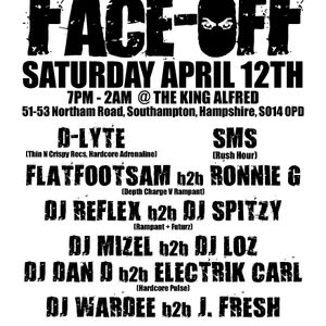 Hardcore Face-Off (part 1) Wardee b2b J-Fresh