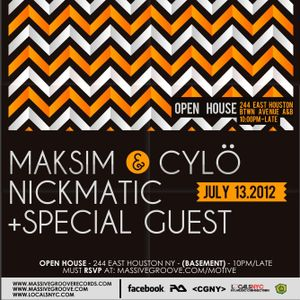 Live at Motive 2012-07-13