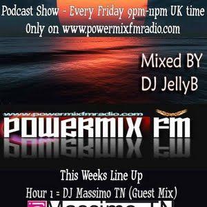 En tranced For life _ Dj massimo Tn Guest On  Powermixfm 1_7_2011 .