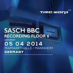 Sasch BBC - Time Warp 2014, Recording Floor 6