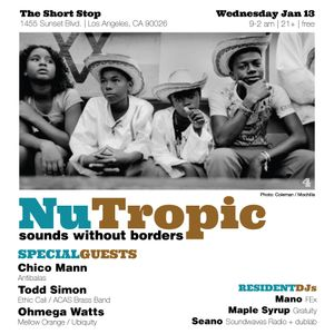 Ohmega Watts Live at NuTropic (1.13.16)