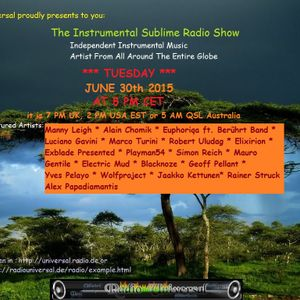 Instrumental Sublime Radio Show of June 30th 2015
