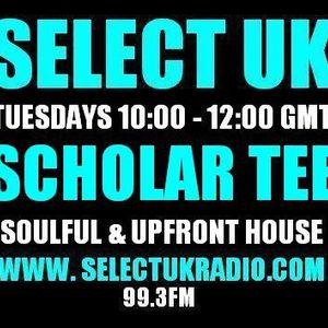 Scholar Tee SelectUK Radioshow 12.04.2011 + tracklisting