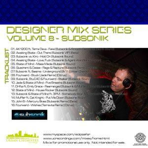 Designer Mix Series Volume 8 :: Subsonik