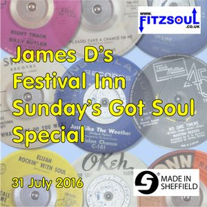 James D's Fitzsoul Festival Inn Soul On Sunday Special July 2016