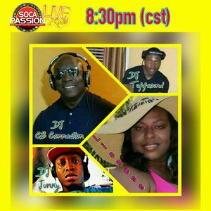 THE MONDAY NIGHT CONNECTION WITH DJ CB CONNECTION, DJ TUFFSOUND AND DJJUNKY