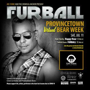 Furball Provincetown Virtual Bear Week - LIVE DJ Tony Moran 07/11/20