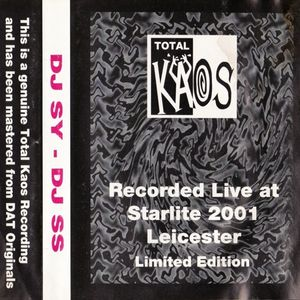 DJ SS - Total Kaos - 6th November 1993