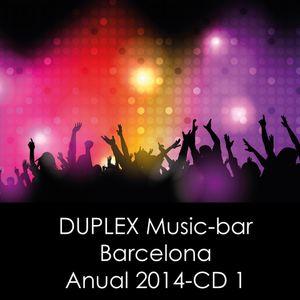 Dj IXMATRIX, DUPLEX Music-bar, Barcelona, Anual 2014-CD-1