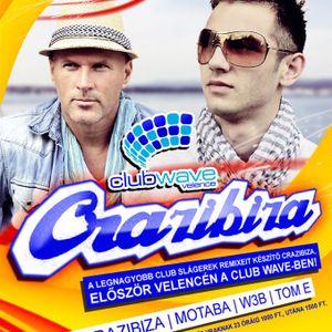 Crazibiza & Motaba & W3b & Tom E - Live @ Club Wave Velence 2012.07.21.