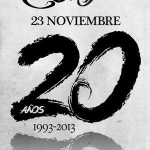 Coliseum 20º Aniversario Dj-Ricardo (23-11-2013)