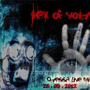Hex of Void - Odessa live mix@Copyright club 26-05-2012