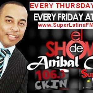 El Concierto de la Salsa Con ANIBAL CRUZ - 6 de Septiembre 2012