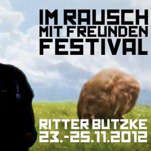 Zauberlinden & Janvanvau back2back @ Ritter Butzke 24/11/2012