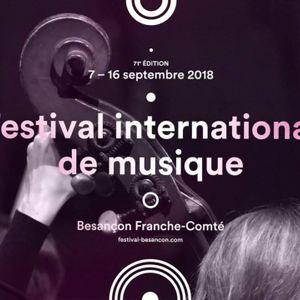 Interview de Jean-Michel Mathé - Présentation du programme du 71ème Festival de musique de Besançon