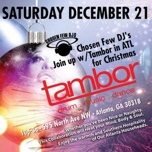 """""""TAMBOR HOLIDAY PARTY 2013"""" Mixed by Wayne Williams"""