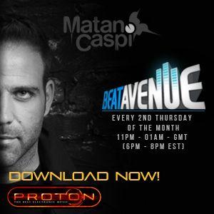 Matan Caspi - Beat Avenue Radio Show 075 August 2018