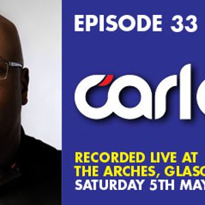 Carl Cox - Live @ Colours Revolution Recruits, The Arches Club, Glasgow, Escócia (05.05.2012)