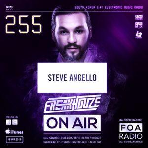 Freakhouze On Air 255 ● Steve Angello