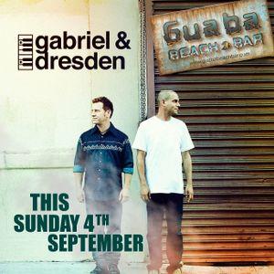 Gabriel & Dresden Live at Guaba Beach Bar, Limassol, Cyprus 09-04-16