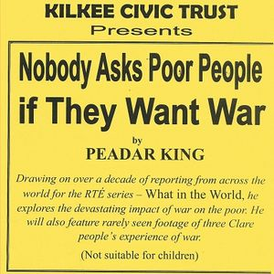 KCT 1 Peadar King-Nobody Asks Poor People If They Want War ~ Viet Thanh Nguyen