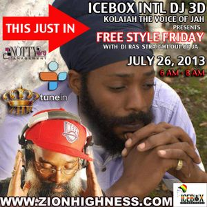FREESTYLE FRIDAY  WITH  ICEBOX INTL  & DI RAS