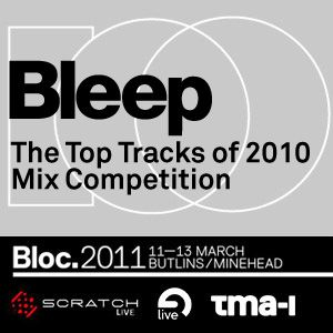 DJ 2010 - Bleep Competition mixtape (February 2011)