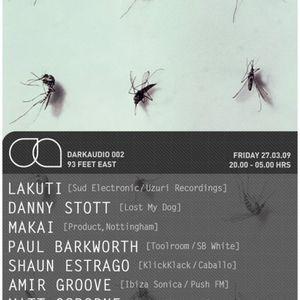 PaulBarkworth Live@DarkAudio@93FeetEast