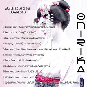 Onirika DJ Set - March 2010 Galileo