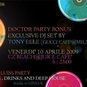 Tony ELLE live @ Juice Cafè 13-04-09