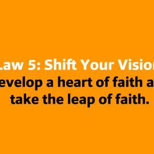 Law Five: Shift Your Vision 12.30.17 Baptiste Power Vinyasa