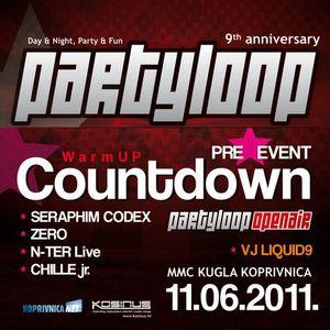 Partyloop Countdown (Kuglana KC, 04.06.11.)