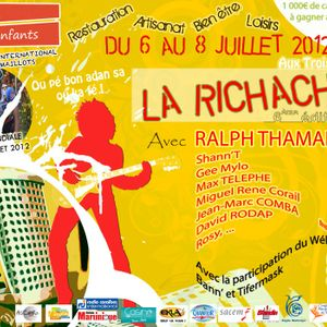 Bryan Stormer @ Village Créole, Festival La Ri Chacha, Trois-Ilêts, Martinique - 06/07/2012