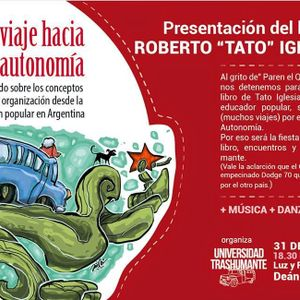 Entrevista a Roberto Tato Iglesias, de la Universidad Trashumante.