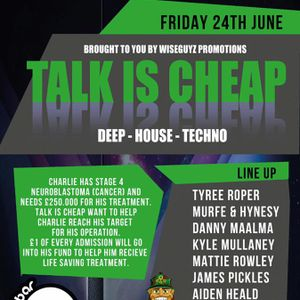 TALK IS CHEAP 24TH JUNE @ BAR QUAYE LEIGH