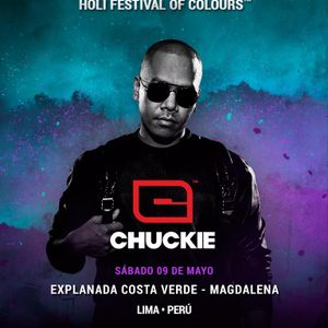 Chuckie @ Holi Festival Of Colours Lima (2015.05.09)