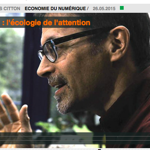 Yves Citton, l'écologie de l'attention.