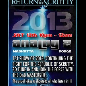 PointBlank DnB - Show 13 - Return of the Scrutty!!! - 13/01/2013
